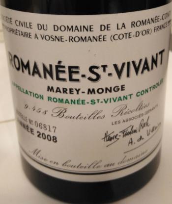 Romanée-St-Vivant DRC